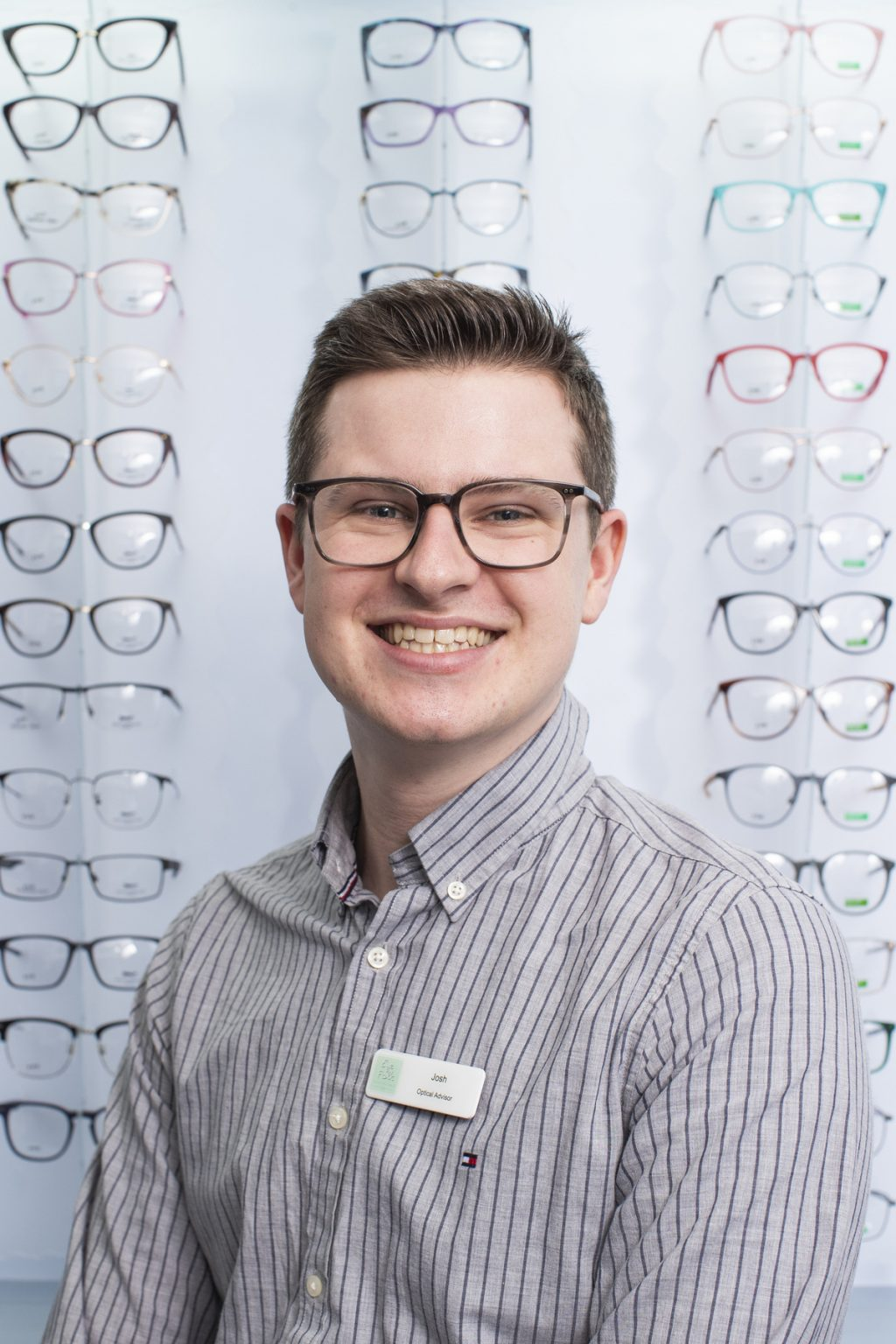 Photo of Josh, a Trainee Dispensing Optician at Eye Folk