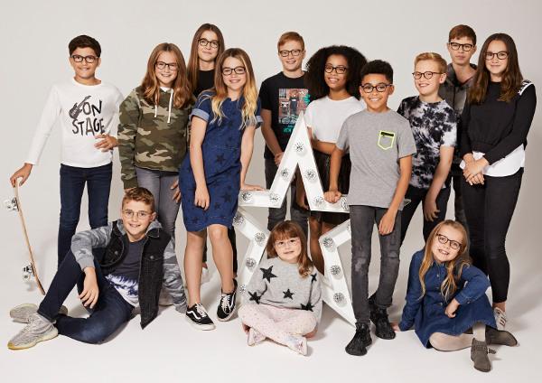 Photo of children wearing glasses