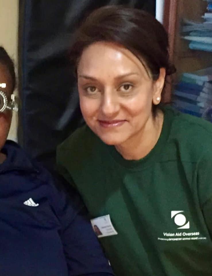Photo of Sheema Ravat, an Optometrist at Eye Folk